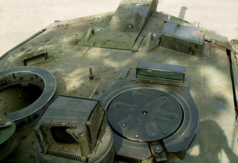 Entfernungsmesser Panzer : Das panzerdetail feuerleitanlage des leopard