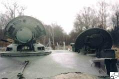 Das panzerdetail feuerleitanlage des t 72 t 72a und t 72b