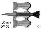 Das Panzerdetail - Munition der 120 mm Kanone von Rheinmetall